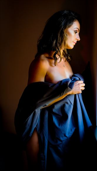 Lady at the Window Sensual Photo by Photographer ITZU