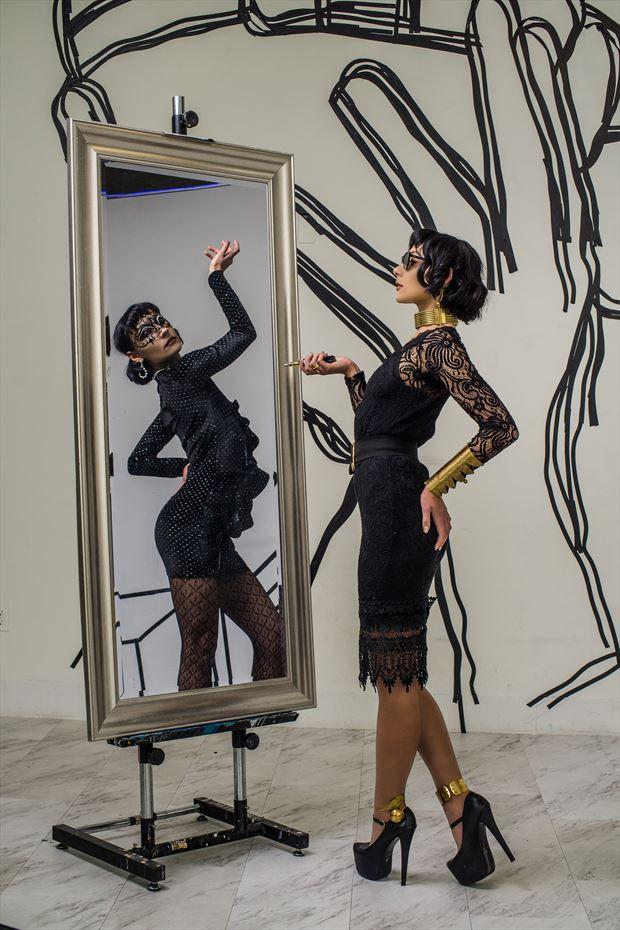Lady in the Freaks Surreal Photo by Photographer studiokowaku