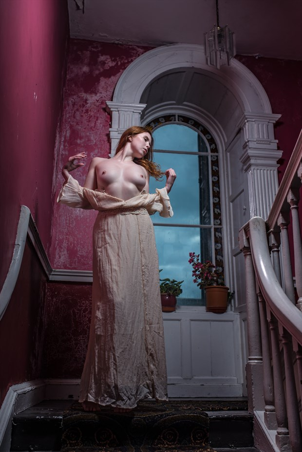 Lady in the castle Artistic Nude Photo by Photographer Odinntheviking