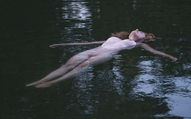 Lady of the Lake Artistic Nude Photo by Model Arshae Morningstar