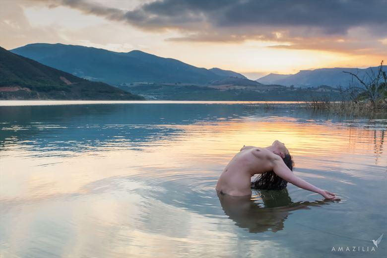 Lady of the Lake Artistic Nude Photo by Photographer Amazilia Photography