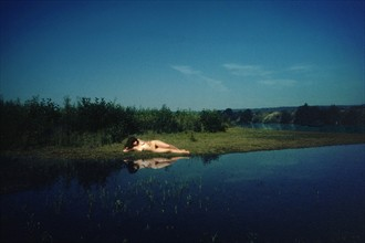 Lady of the Lake Artistic Nude Photo by Photographer Jonathan Charles