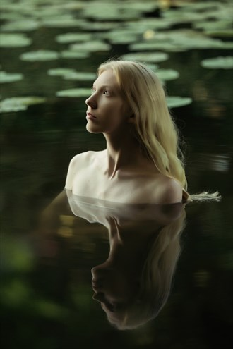 Lady of the Lake Implied Nude Photo by Photographer GerardChillcott