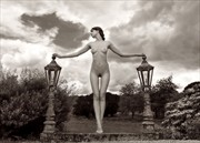 Lady of the Lamps Artistic Nude Photo by Photographer MaxOperandi