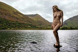 Lady of the lake Artistic Nude Photo by Model Muse