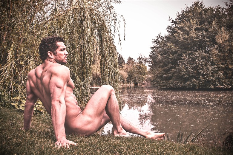 Lakeside Nature Photo by Model Joe Mackey