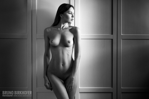 Lana Artistic Nude Photo by Photographer Bruno Birkhofer