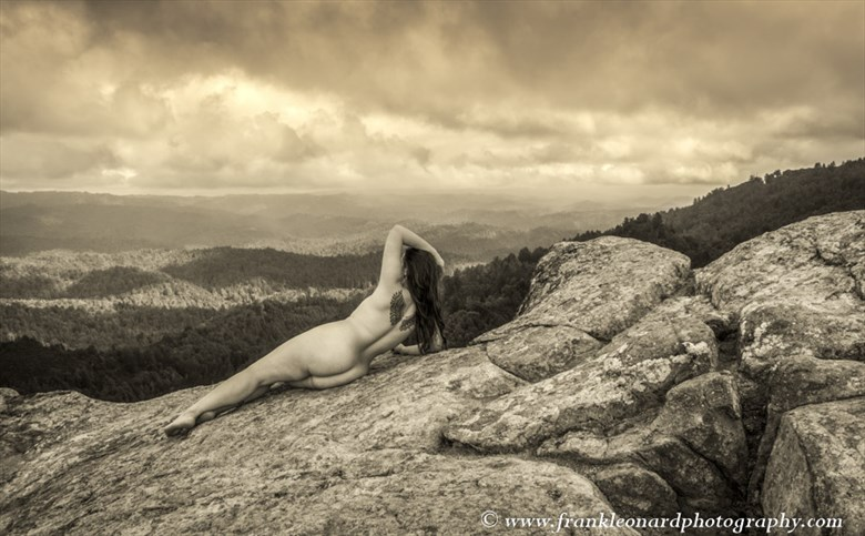 Landscape Vision Artistic Nude Photo by Photographer Frank Leonard