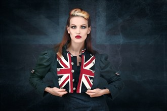 Lastwear Union Jack Bolero Alternative Model Photo by Photographer ByteStudio Photography