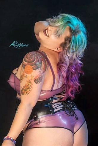 Latex Lingerie Photo by Model Cheressa