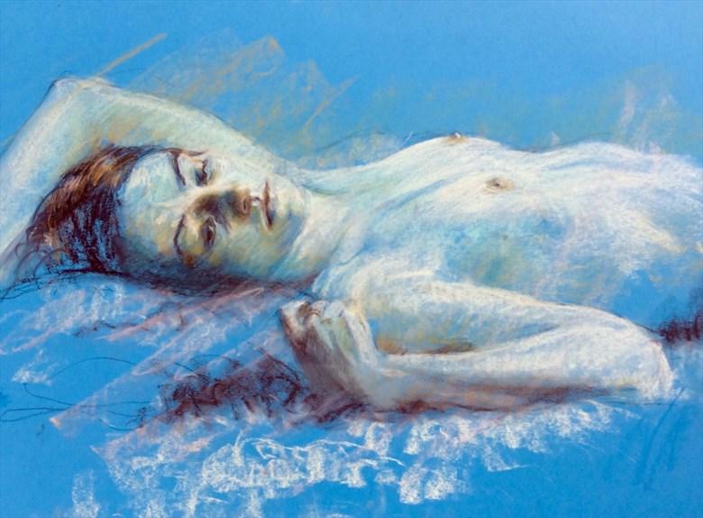 Laura 6 Artistic Nude Artwork by Artist Rod