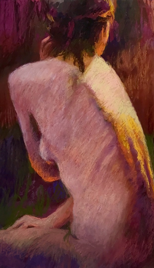 Laura 8 Artistic Nude Artwork by Artist Rod