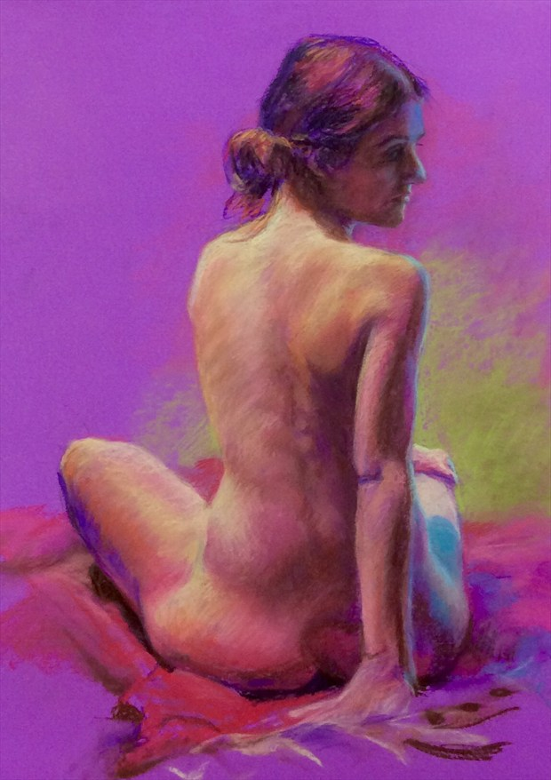 Laura no. 3 Artistic Nude Artwork by Artist Rod