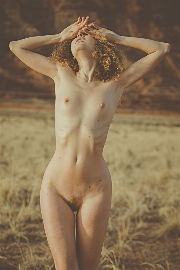 Laurine Matt Artistic Nude Photo by Artist April Alston McKay