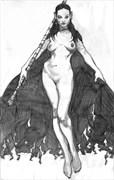 Layne Artistic Nude Artwork by Artist Ronnie Werner