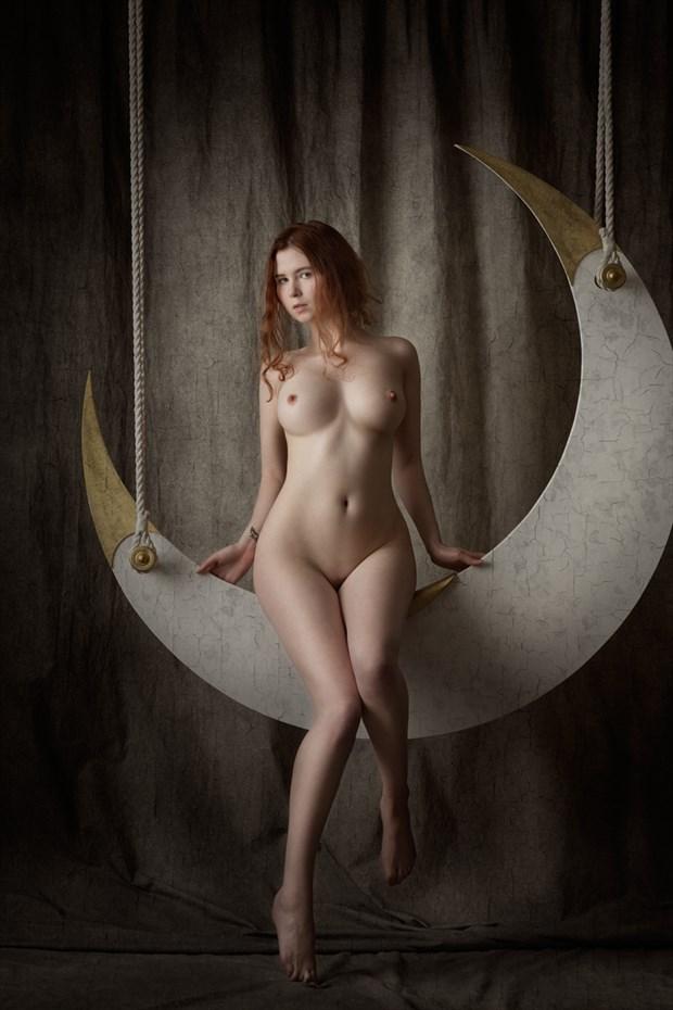 Le Voyage dans la Lune  Artistic Nude Photo by Model Johannsdottir