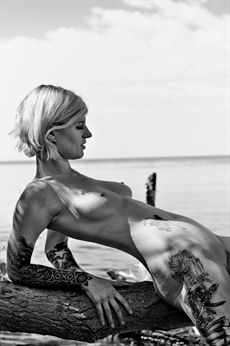 Lean On Myself Artistic Nude Photo by Photographer Daddy Dan