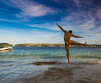 Leap of Joy Artistic Nude Photo by Photographer ROD SPARK