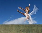 Leap of faith Artistic Nude Photo by Photographer John Evans