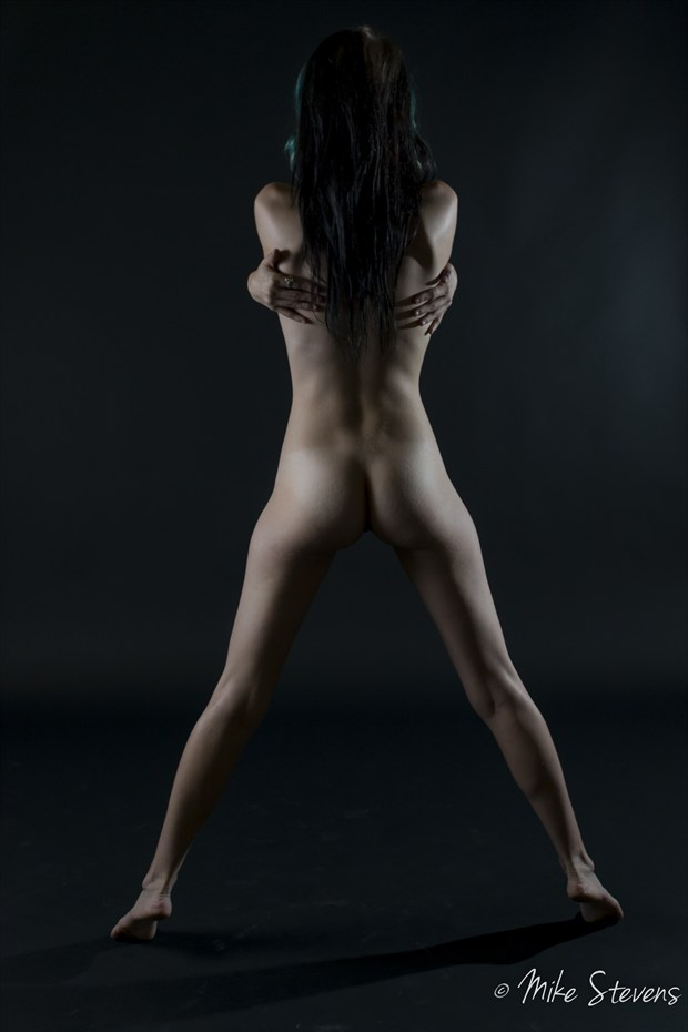 Legs and Hands Artistic Nude Photo by Photographer Mike Stevens