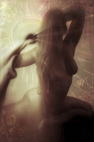 Let in the Light Artistic Nude Artwork by Model SongBirdie