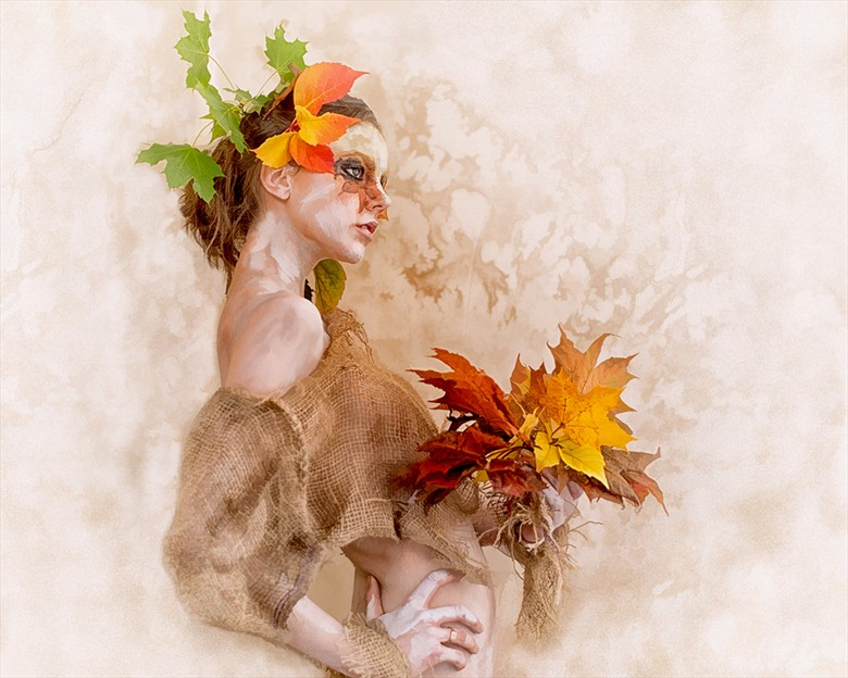 Let the nature take it's tole  Body Painting Photo by Model MA