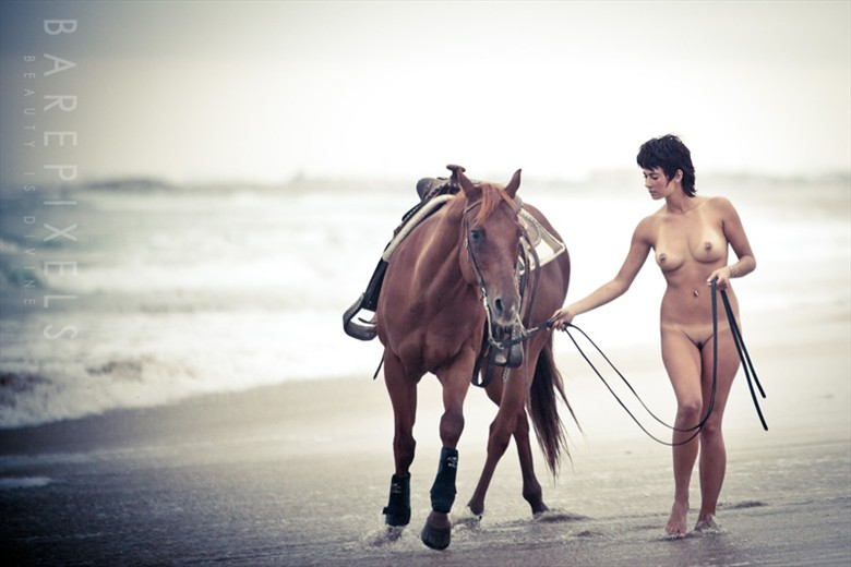 Let us be. We will run wild and free.  Artistic Nude Artwork by Model Mandyxoxo