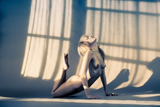 Lexi Stretches Artistic Nude Photo by Photographer BillySheahan