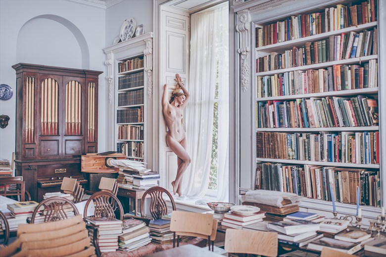Library Duty Artistic Nude Photo by Photographer silverlight