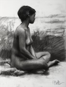 Life Figure Drawing %231119 Artistic Nude Artwork by Artist Matthew Joseph Peak