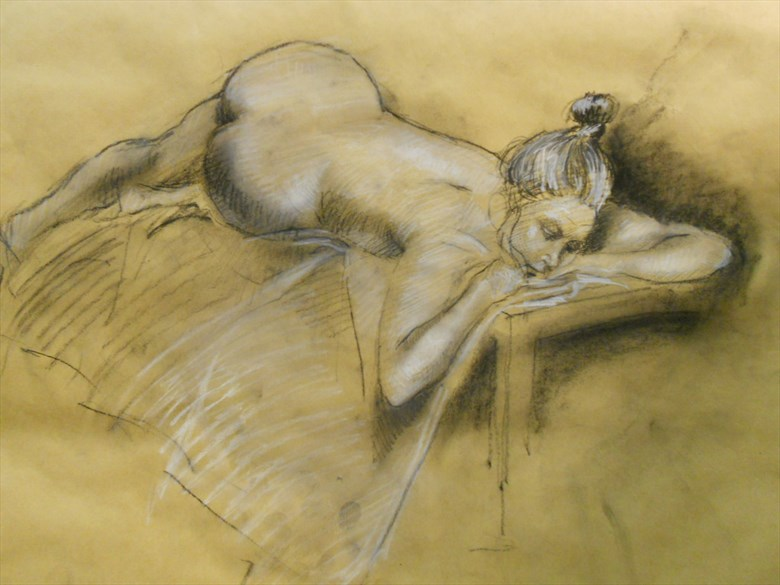 Life study 10 Figure Study Artwork by Artist alictg81