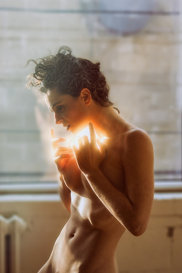 Light Blast Artistic Nude Photo by Photographer Stef D