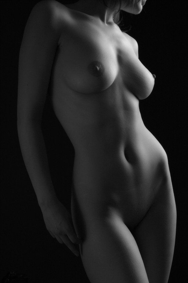 Light and Dark Artistic Nude Photo by Photographer photoduality