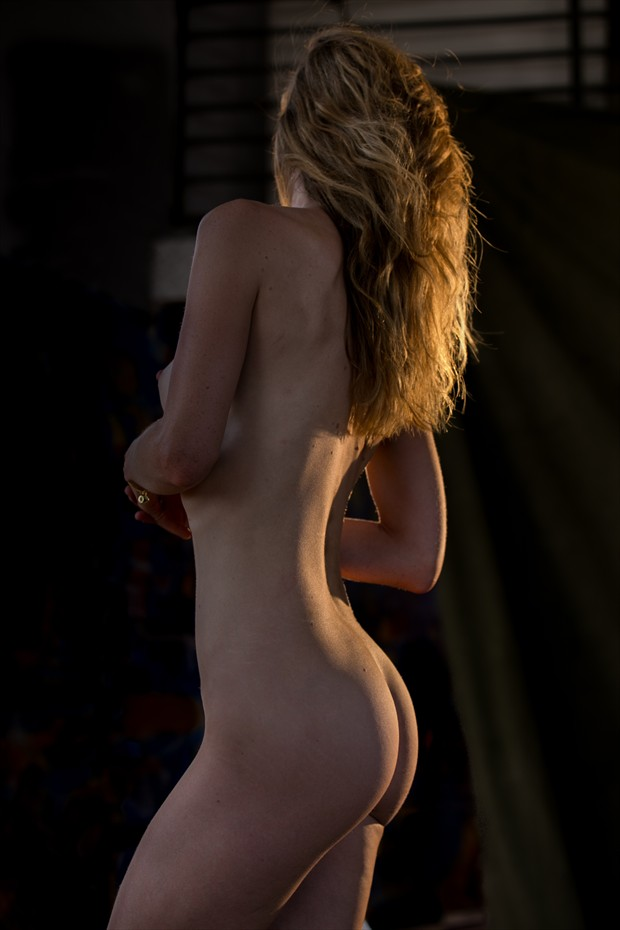 Light and Flow Artistic Nude Photo by Model Joanna