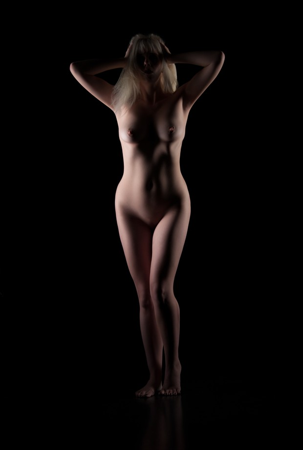 Light in the Darkness Artistic Nude Photo by Photographer Mez