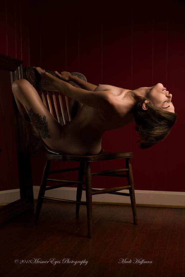 Light in the Shadows Artistic Nude Photo by Photographer Mez