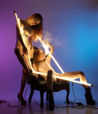 Light study  Artistic Nude Photo by Photographer glopezzphoto