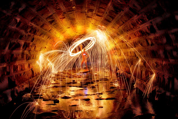 Light the Viaduct Artistic Nude Photo by Photographer Al Fess