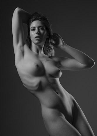Lighting Study of Elle Beth Artistic Nude Photo by Photographer Mark Davy Jones