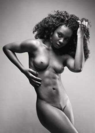 Lighting exorcise with Faith Artistic Nude Photo by Photographer Mark Davy Jones