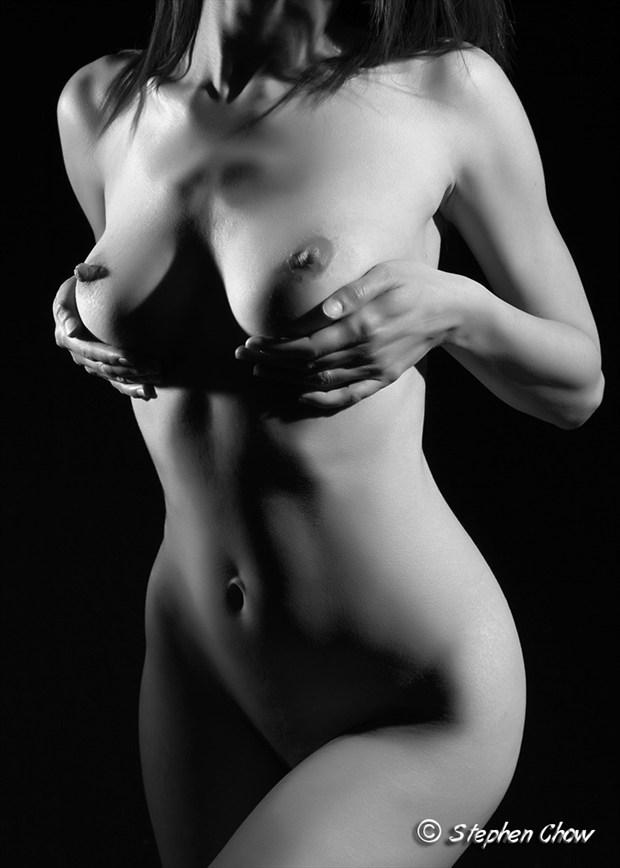 Lights Artistic Nude Artwork by Model Diana Revo