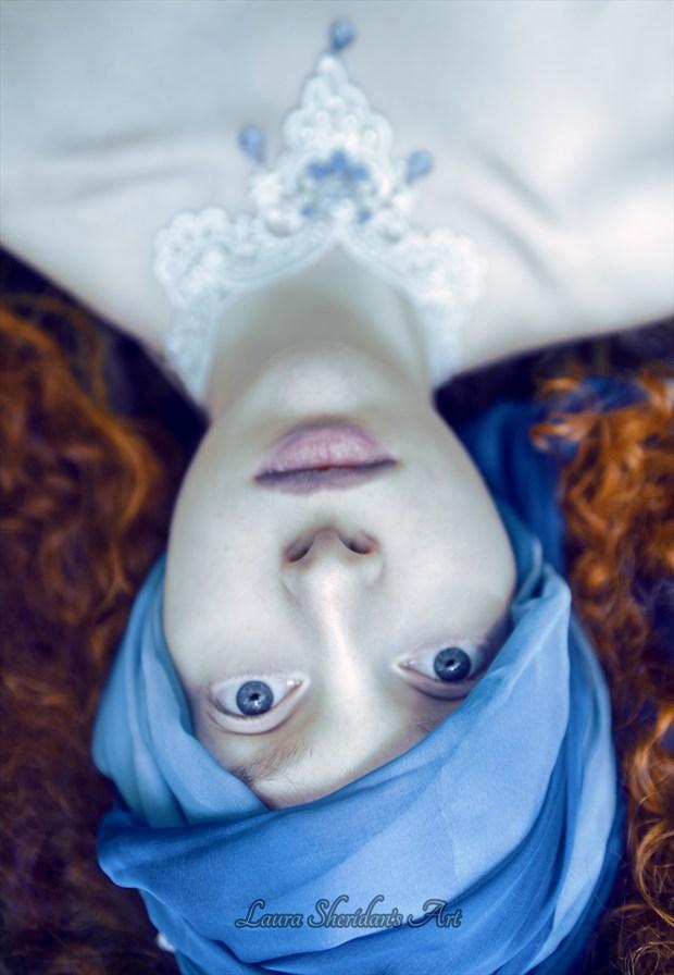 Like Ice Fantasy Artwork by Photographer Laura Sheridan's Art