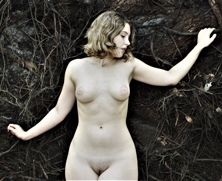 Lila Blue Artistic Nude Photo by Photographer Lisa Paul Everhart