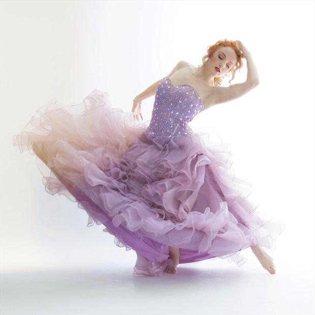 Lilac Wave Fashion Photo by Photographer Richard Maxim