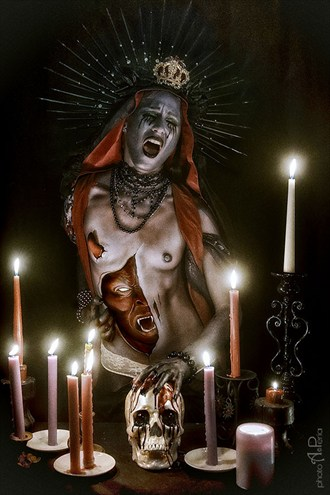 Lilith   Mother of passions. Body Painting Photo by Photographer Andrea Peria