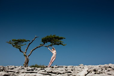 Limestone Artistic Nude Photo by Model Dee Frances