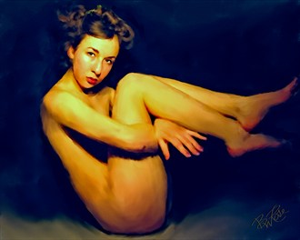 Lina Figure Study Artwork by Artist BWRgrafix