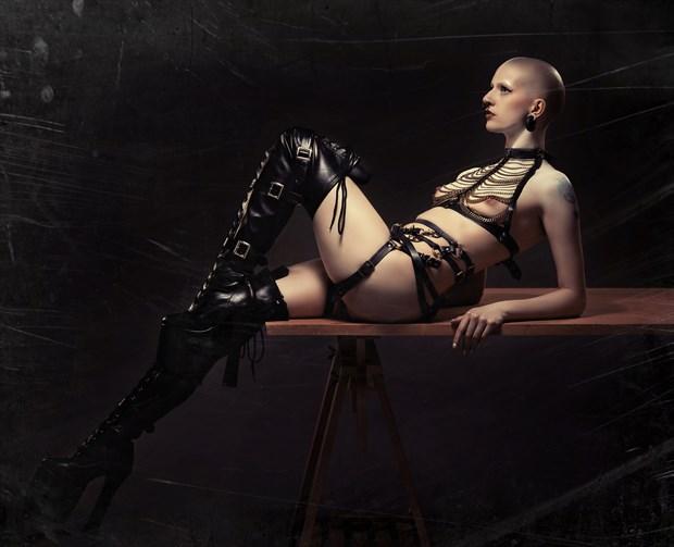 Lingerie Alternative Model Photo by Model Talli Lyndsey
