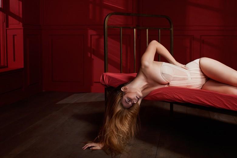 Lingerie Artwork by Model valentina feula