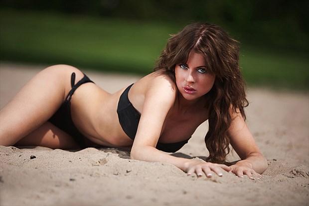 Lingerie Bikini Photo by Model Anna Johansson